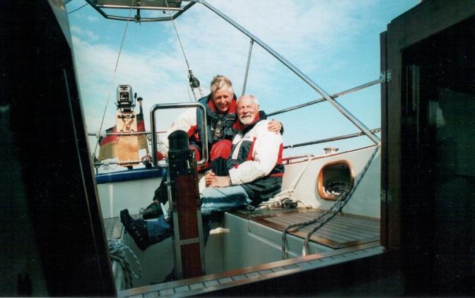 Der Skipper und seine Frau