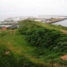Blick auf den Südhafen mit Vorhafen