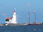 Leuchtturm auf der Insel Marken, Markermeer