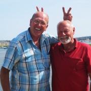 Good friends: Nick und Heinz