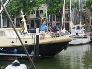 Abschied in Dordrecht