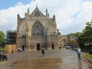 2. Die Kathedrale von Exeter