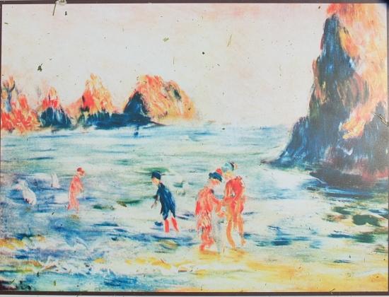 31. So malte Auguste Renoir die Moulin Huet Bay