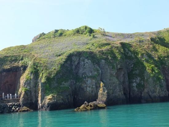 1.Blue Bell Teppich auf der höhlenreichen Küste