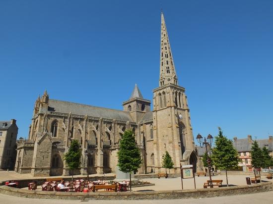Die Kathedrale St. Tugdual in Treguier