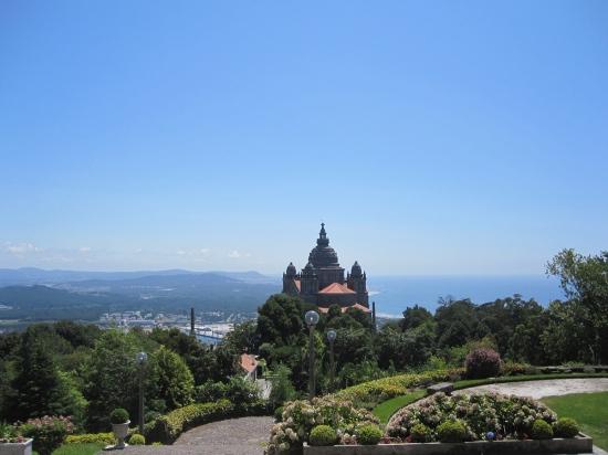 Blick von der Pousada auf Santa Lucia