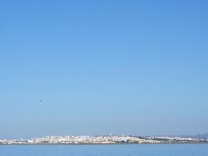 Flieger über Faro