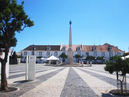 Marktplatz in Vila Real de Santo Antonio