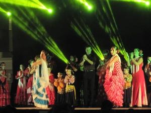 Flamenco auf der Festa