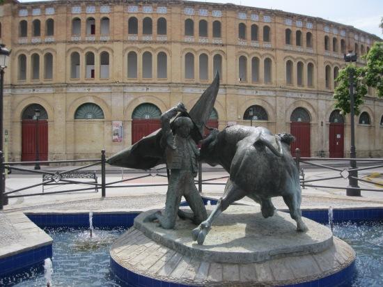 Die Stierkampfarena von Puerto de Santa Maria
