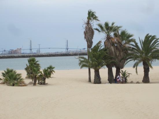 Strand bei Puerto Sherry
