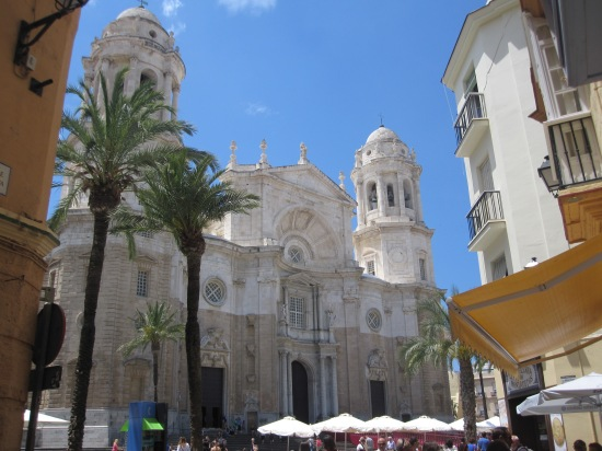Kathedrale in Cadiz