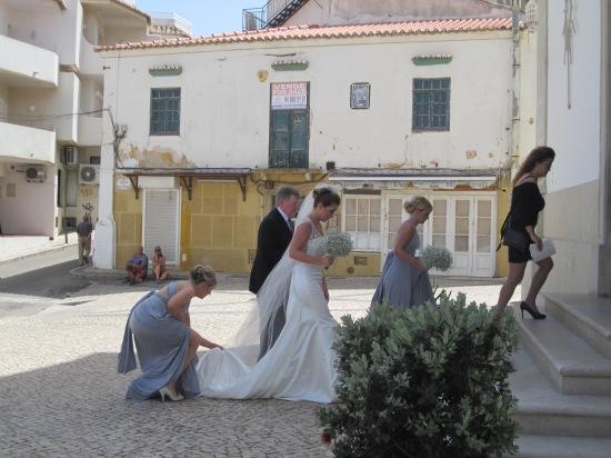 Die irische Hochzeit in Albufeira