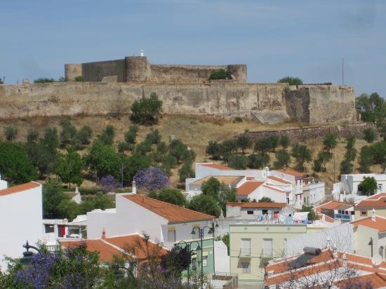 Die alte Burg in Castro Marim