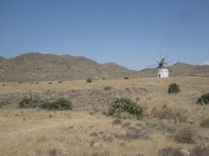 Mühle in Pozo de los Frailes - Parque Natural de Cabo de Gata-Nijar