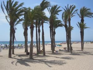 Der Strand von Villa Joyosa