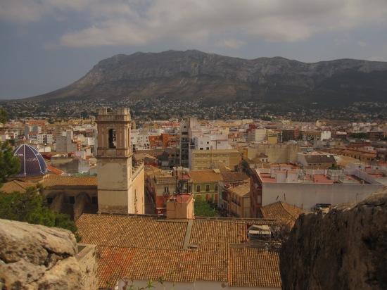Denia und der Montgo (753 m hoch)