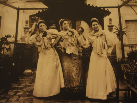 Drei Damen aus Alicante