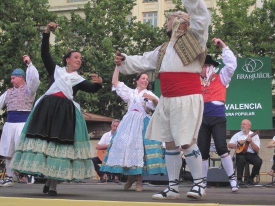 Tanz mit Castanetten