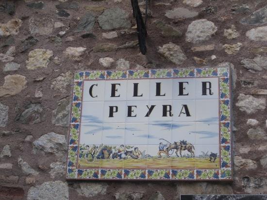 Weinkeller in Escaladei/ Priorat