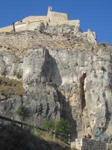 Die Burg von Morella auf 1072 m Höhe
