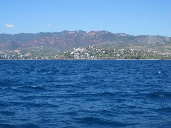 Benicasssim von See aus gesehen