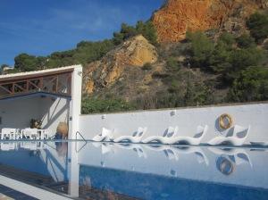 Der Swimmingpool im Club Nautico