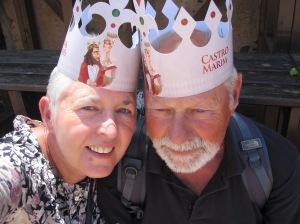 Herr König und Frau Königin