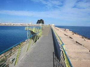 Paseo Dique de Levante - Promenade auf dem Ostdeich