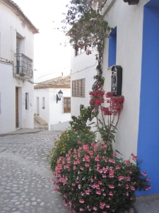 10.Gasse in Altea