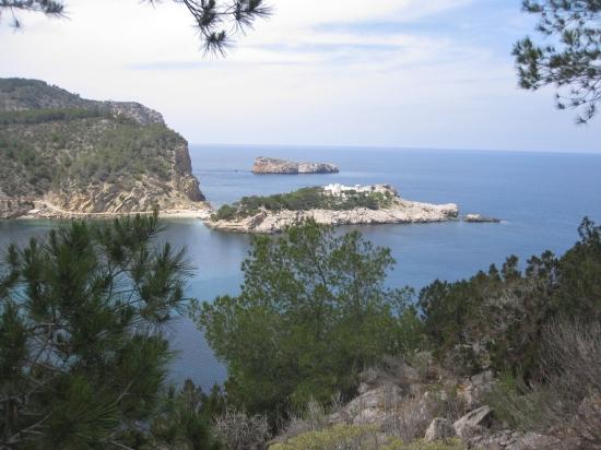 Sant Miquel - Blick vom Eingang zur Tropfsteinhöhle