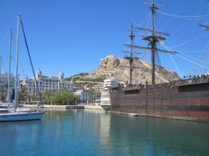 Die Festung in Alicante