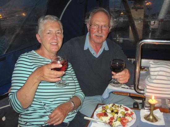 Rolfs letzter Abend an Bord