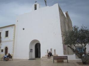 Die Kirche in Sant Francesc Xavier