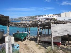 Fischerboote in Sant Agusti